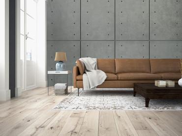 Papier Fototapete Moderne Betonmauer 368x254cm – Bild 2
