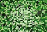 Vlies Fototapete 3D Quadrate grün 368x254cm 001