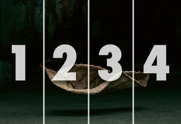 Vlies Fototapete 3D Blatt 368x254cm – Bild 4