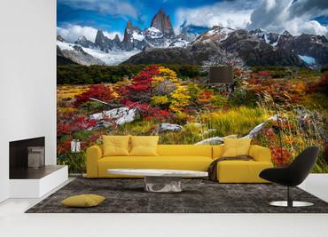 Wall Mural El Chalten Argentina Non-Woven 368x254cm – Bild 2