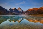 Vlies Fototapete Magog See Kanada 368x254cm 001