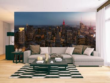 Vlies Fototapete New York City USA 368x254cm – Bild 2
