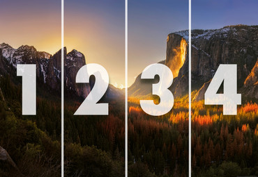 Vlies Fototapete Yosemite Nationalpark USA 368x254cm – Bild 4