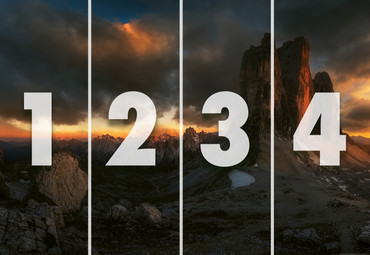 Vlies Fototapete Dolomiten Italien 368x254cm – Bild 4