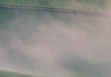 Vlies Fototapete Nebelige Hügel I 368x254cm – Bild 3
