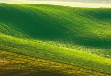 Vlies Fototapete Hügel 368x254cm – Bild 3