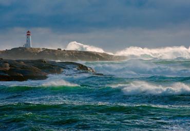 Vlies Fototapete Leuchtturm 368x254cm – Bild 1