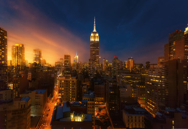 Vlies Fototapete Empire State Building New York 368x254cm – Bild 1