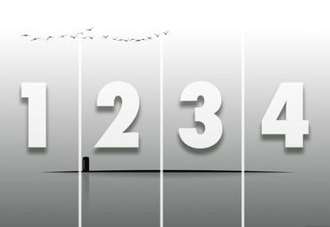 Vlies Fototapete Abstrakte Realität 368x254cm – Bild 4