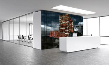 Vlies Fototapete Abstrakte Architektur 368x254cm – Bild 2