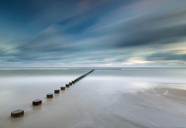 Vlies Fototapete Küste in Polen 368x254cm – Bild 1