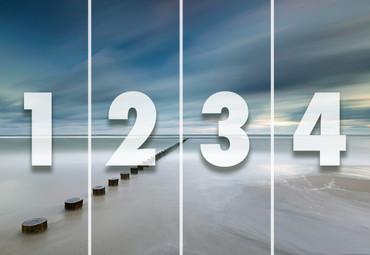 Vlies Fototapete Küste in Polen 368x254cm – Bild 4