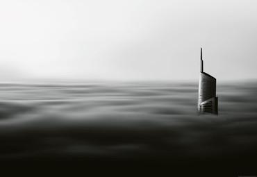 Vlies Fototapete Wolkenkratzer 368x254cm – Bild 1