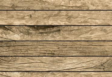 Vlies Fototapete Vintage Holzwand 368x254cm – Bild 3