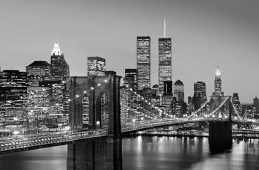 XXL Poster New York Manhattan Skyline Schwarz-weiß – Bild 2