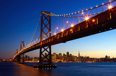 XXL Poster San Francisco Skyline Bay Bridge – Bild 2