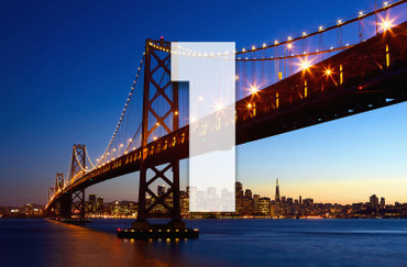 XXL Poster San Francisco Skyline Bay Bridge – Bild 3