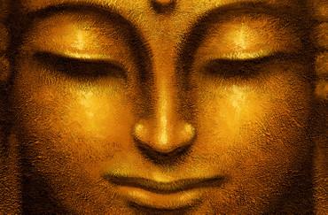 XXL Poster Wellness Buddha Goldig – Bild 2