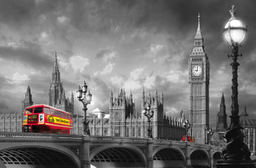 Giant Art Bus on Westminster Bridge – Bild 2
