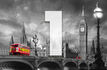 Giant Art Bus on Westminster Bridge – Bild 3