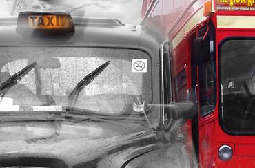 XXL Poster London Taxi und Bus – Bild 4