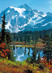 Wall Mural Mountain Peak 001