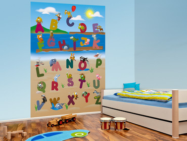 Wall Mural Animal Alphabet – Bild 5
