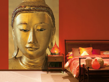 Wall Mural Golden Buddha – Bild 1