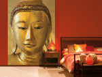 Wall Mural Golden Buddha 001
