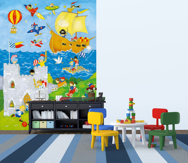Wall Mural It's a Boy's World – Bild 2
