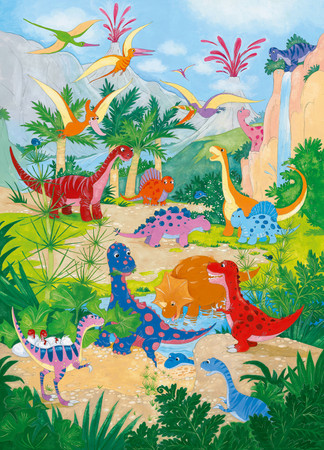 Wall Mural Dino World – Bild 2