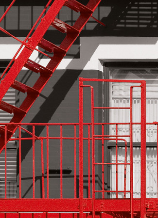 Wall Mural Fire Escape – Bild 4