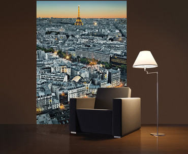 Wall Mural Paris Aerial View – Bild 2
