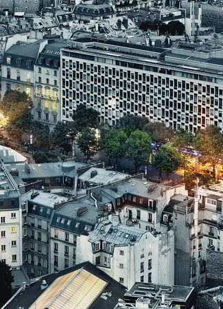 Wall Mural Paris Aerial View – Bild 3