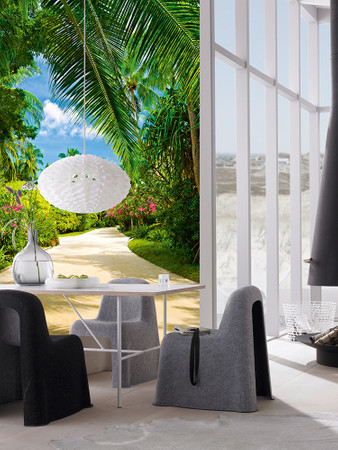 Wall Mural Tropical Pathway – Bild 1