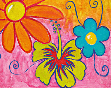 Non-Woven Wall Mural Spring flowers – Bild 2