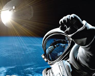 Vlies Fototapete Weltraum mit Astronaut – Bild 4