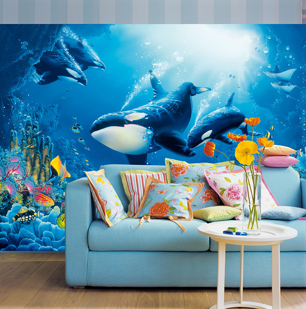 Wall Mural Delight of Life 001