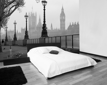 Wall Mural London Fog – Bild 1