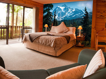Wall Mural Mountain Morning