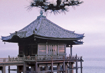 Fototapete Haus am Meer in Japan – Bild 4