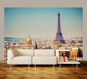 Vlies Fototapete Paris Eiffelturm – Bild 1