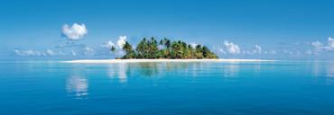 Fototapete Insel Malediven und Meer – Bild 1