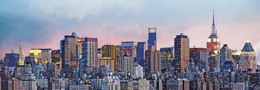 Fototapete New York Manhattan Skyline Grafisch – Bild 2