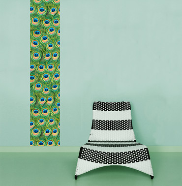 Wall Stripe Peacock Stripe – Bild 1