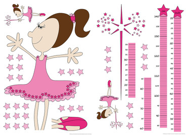 Wandtattoo Measuring tape: Fairy – Bild 1