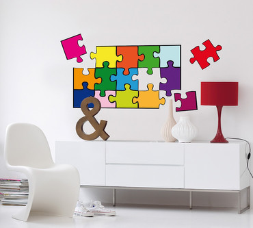 Wall Tattoo Puzzle – Bild 2