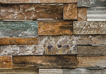 Wall Mural Colorful Stone Wall – Bild 4