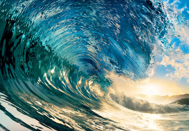 Non-Woven Wall Mural The Perfect Wave – Bild 2