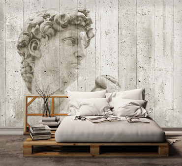 Non-Woven Wall Mural David Street Art – Bild 1